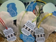 """White Rabbit"" Tea-Infused Soaps"