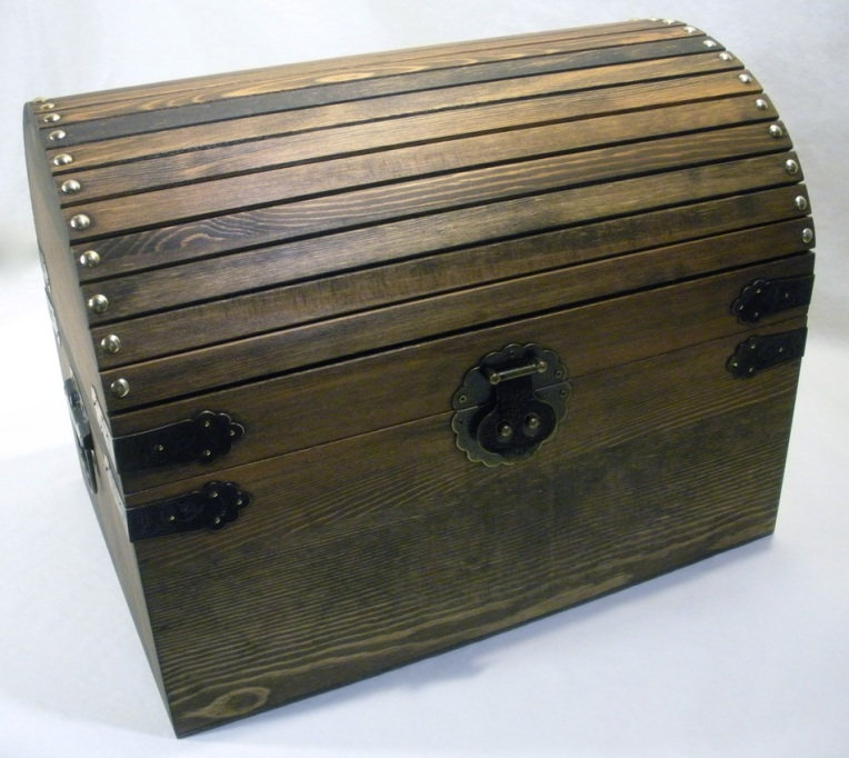 Boy's Treasure Chest - Closed