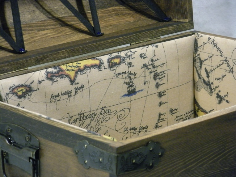 Boy's Treasure Chest - Closeup