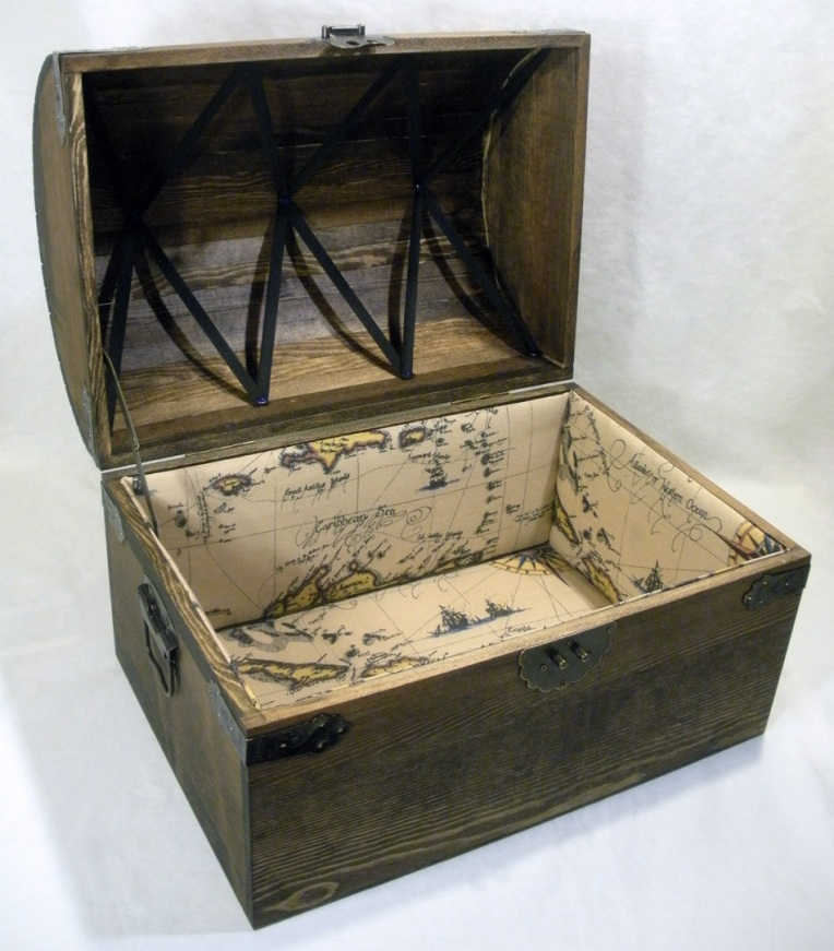 Boy's Treasure Chest - Open