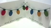 Paisley Avocado 2012 Holiday Card Inside