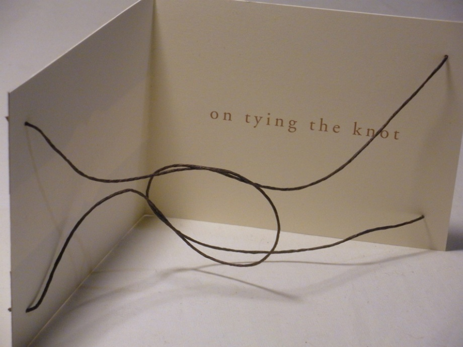 Tie-The-Knot Card Open