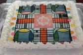 Parcheesi Cake