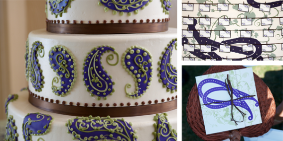 Paisley Wedding Details