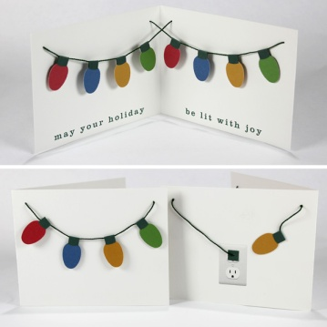 Lit With Joy Holiday Card