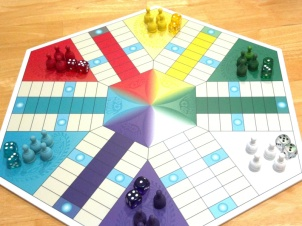 Custom 6-Player Parcheesi Board